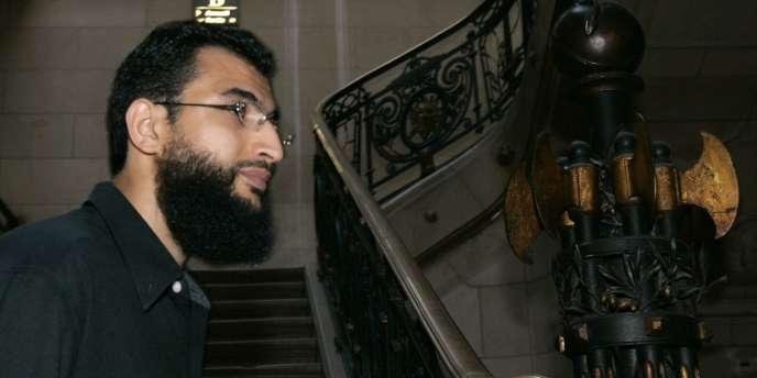 Khaled ben Mustapha (ici le 3 juillet 2006) est l'un des six Français qui avaient été internés au camp américain de Guantanamo entre 2002 et 2005.