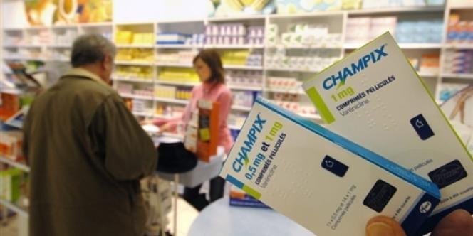 Le Champix est arrivé sur le marché en février 2007.
