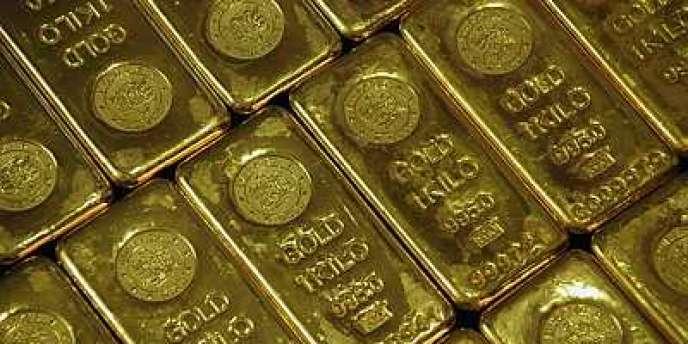 L'or fait figure de valeur refuge depuis le début de la crise.