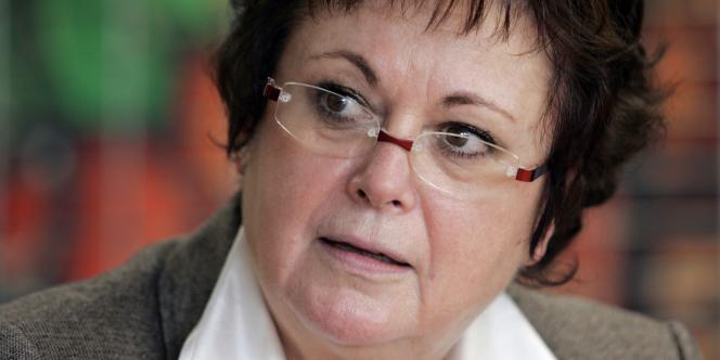 La présidente du Parti chrétien-démocrate, Christine Boutin, en 2008.
