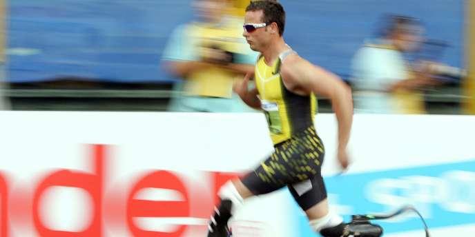 Oscar Pistorius est engagé dans les éliminatoires du 400 m au Mondiaux d'athlétisme de Daegu.