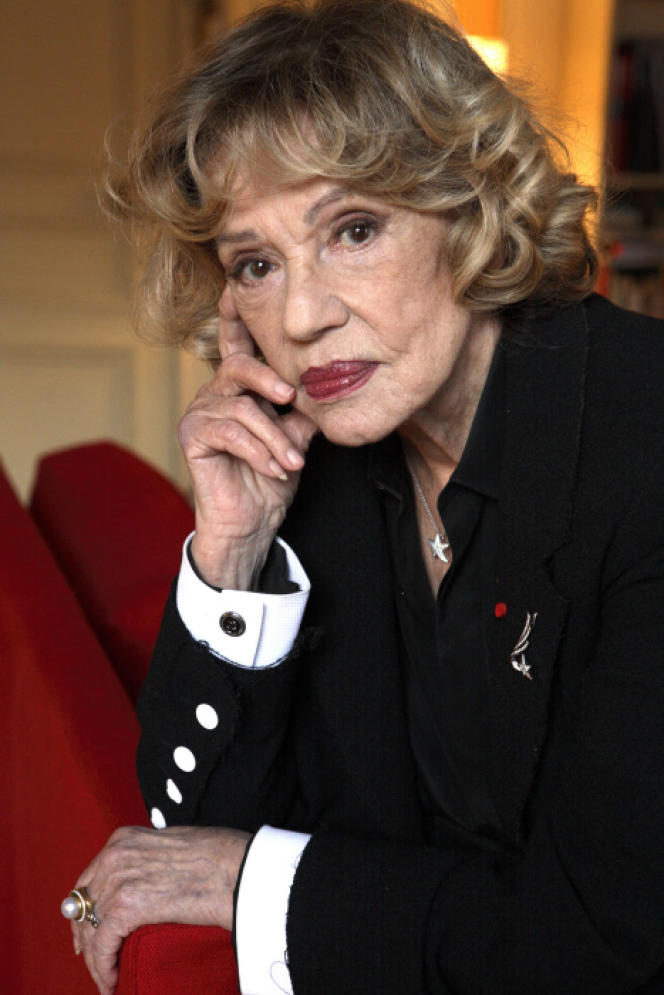 Jeanne Moreau. :