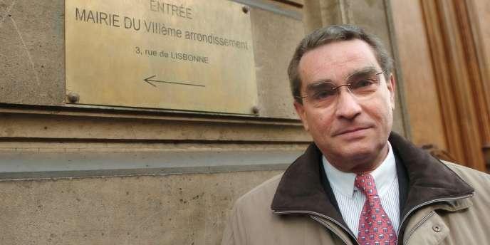 François Lebel, maire du 8e arrondissement de Paris, en 2008.