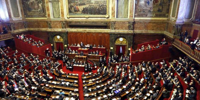 Le Congrès réuni à Versailles, le 4 février 2008.