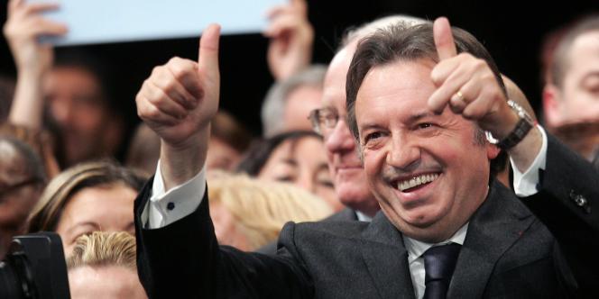 Jean-Noël Guérini, président du conseil Général des Bouches-du-Rhône, le 6 février 2008.