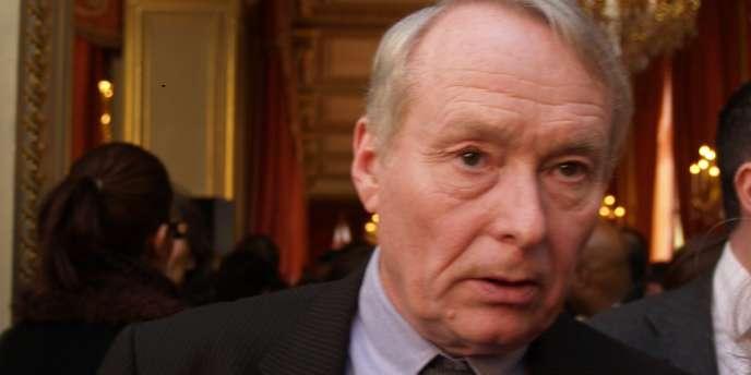 Claude Dilain, maire (PS) de Clichy-sous-Bois, le 8 février 2008 à l'Elysée.