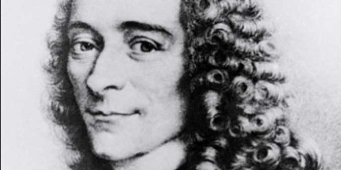 Portrait non daté de Voltaire.