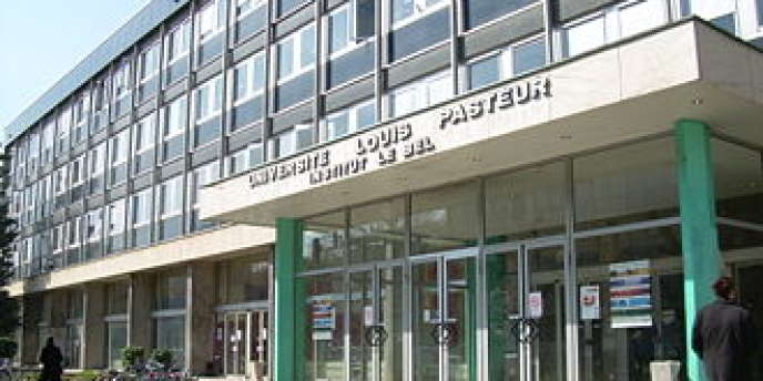 L'université de médecine et de sciences exactes Louis-Pasteur à Strasbourg.