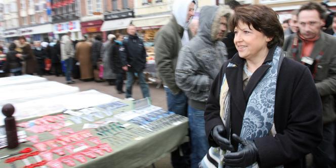 Martine Aubry, la maire socialiste de Lille,