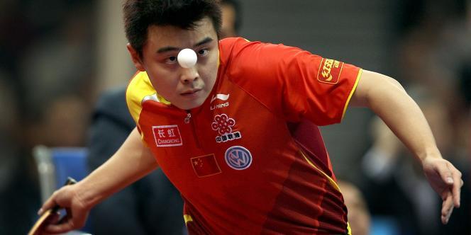 Le Chinois Wang Hao, le 3 mars 2008 à Guangzhou.