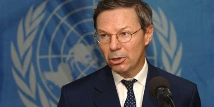 Jean-Marie Guéhenno, le 6 mars 2006.