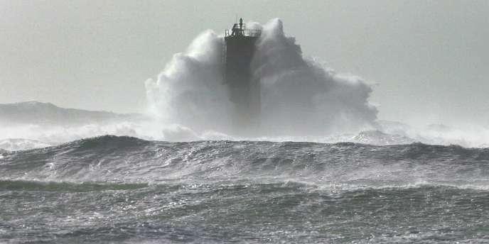 Le vent a atteint les 105 km/h dans le Finistère qui, comme toute la Bretagne, a été placée en vigilance orange.