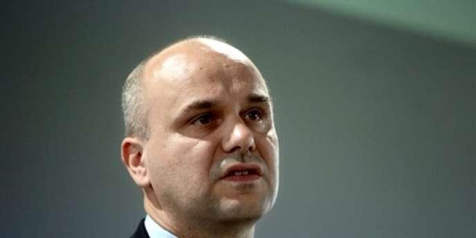 Nicolas Perruchot, député (Nouveau Centre) du Loir-et-Cher