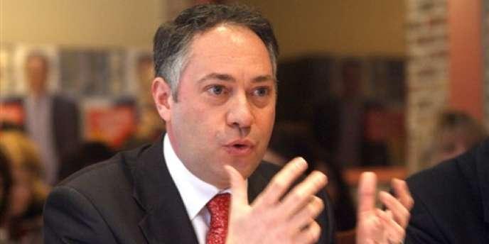 Michel-François Delannoy, lors d'une conférence de presse en 2008.