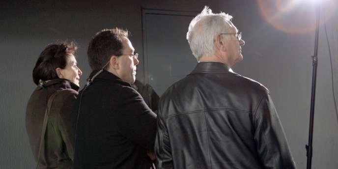 En 2008, le candidat du PS Sébastien Pietrasanta (au centre) a été élu maire d'Asnières-sur-Seine, grâce à une alliance avec Josiane Fischer - candidate en 2014 sous les couleurs de l'UDI - et Christian Leblond (MoDem).