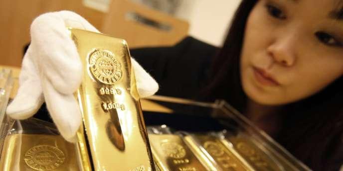 Depuis cinq ans, le cours de l'or à triplé dans le monde.