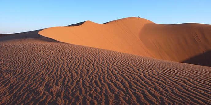 Un Sud modelé par le vent, où les dunes se déplacent au gré des caprices d'Eole.