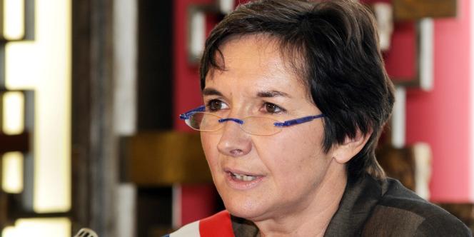 Valérie Fourneyron, à Rouen.