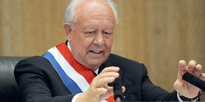 Jean-Claude Gaudin, maire de Marseille,