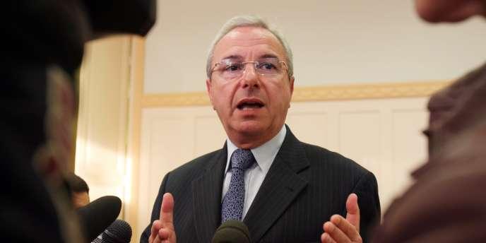Jean Leonetti en mars 2008