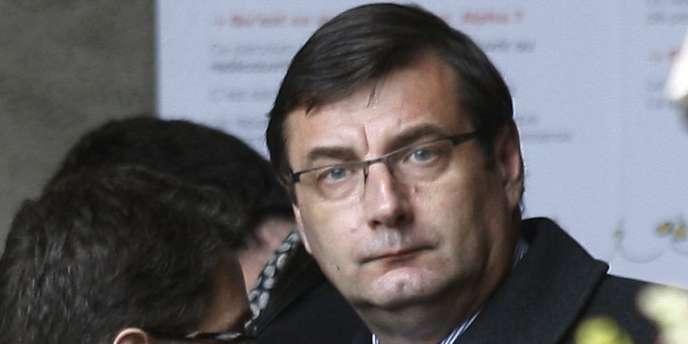 Jean-François Lamour,  ancien ministre de la jeunesse, des sports et de la vie associative de mars 2004 à mai 2007.