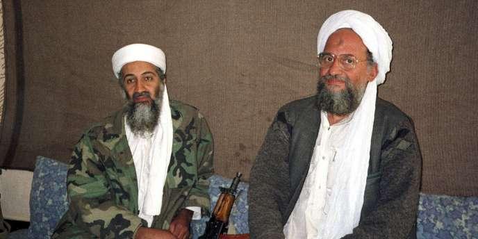 Oussama Ben Laden et Ayman Al-Zawahiri, les deux principaux dirigeants d'Al-Qaida, en 2001.