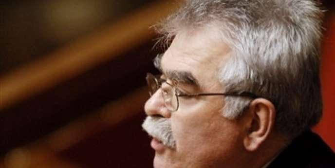 Le député communiste André Chassaigne a annoncé la création d'un groupe Front de gauche à l'Assemblée
