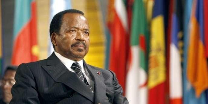 Le président du Cameroun, Paul Biya, le 23octobre2007.