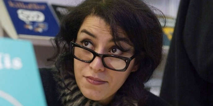 La réalisatrice et auteur de bande dessinnée Marjane Satrapi.