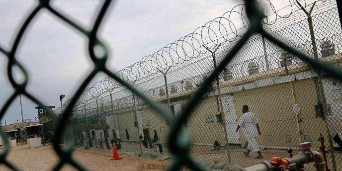 Le camp 4 de la base américaine de Guantanamo, en mai 2008.