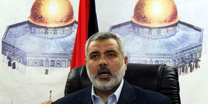 Le chef du gouvernement du Hamas à Gaza, Ismail Haniyeh.