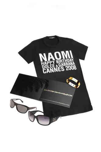 Le visuel d'annonce de la fête organisée par Dolce&Gabbana à Cannes, le 23 mai 2008.