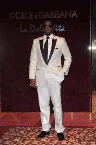 Le chanteur Puff Daddy, lors de la fête organisée par Dolce&Gabbana à Cannes, le 23 mai 2008.