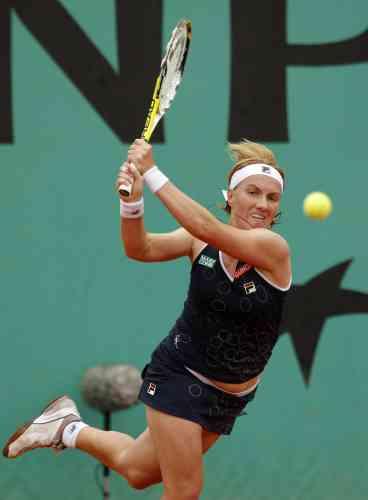 Kuznetsova, à Roland-Garros, le 27 mai.