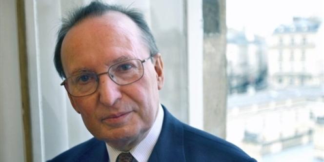 Raymond Soubie, à l'Elysée, en 2008.