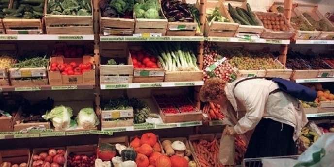 Un magasin de produits bio à Toulouse. Selon les chiffres publiés, mercredi 6 février, par l'Agence Bio, ce marché ne représente que 2,4 % de l'ensemble de la consommation alimentaire française.