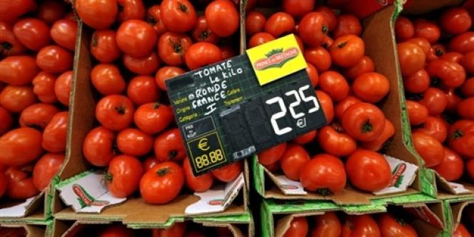 Sur un an, les prix ont augmenté de 0,5%, contre 1,3% prévu dans le budget.