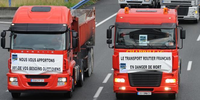 Les transporteurs veulent