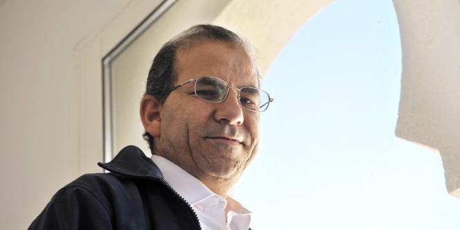 Mohammed Moussaoui, président Conseil français du culte musulman (CFCM), à Avignon, le 13 juin 2008.
