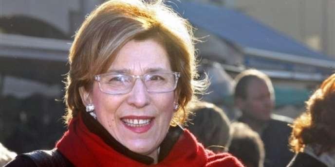 La sénatrice (PS) de Paris Marie-Noëlle Lienemann, en 2008.