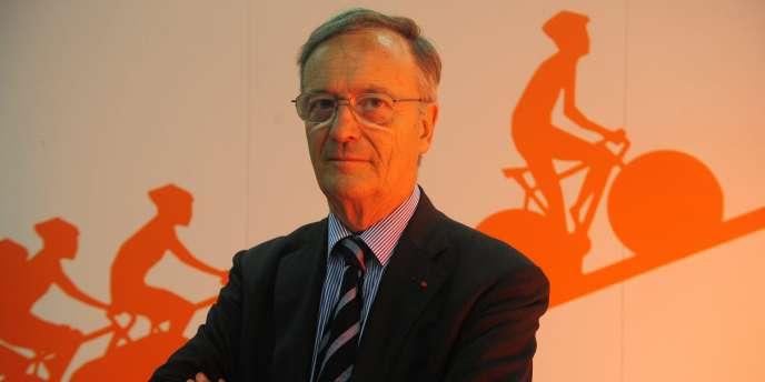 Pierre Bordry, le patron de l'Agence française de lutte contre le dopage, à Brest, le 2 juillet 2008.
