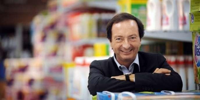Michel-Edouard Leclerc, le PDG du groupe de grande distribution du même nom.
