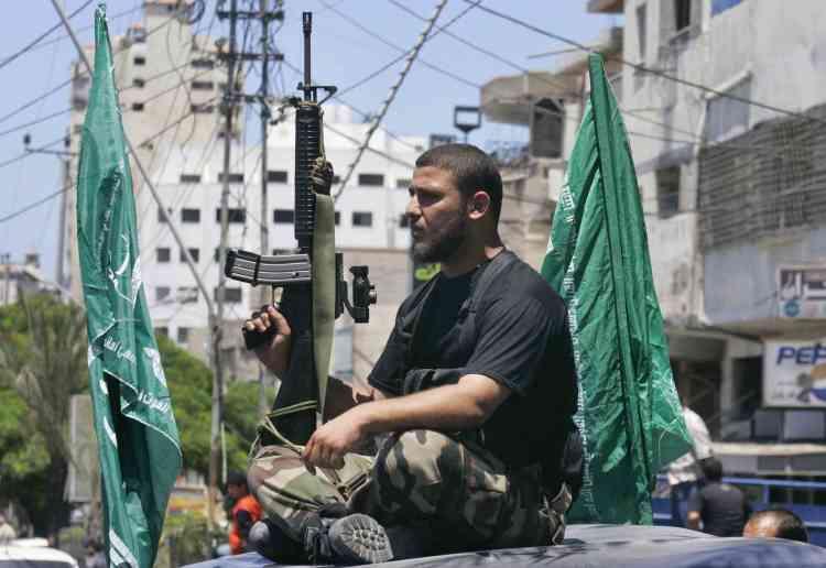 Un Hamas, en juillet 2008.