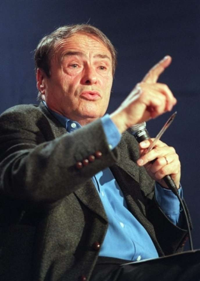 Le sociologue Pierre Bourdieu à Paris en octobre  1998.