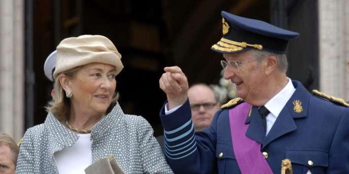 Le roi de Belgique, Albert II, et la reine Paola.