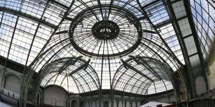 La verrière du Grand Palais, à Paris.