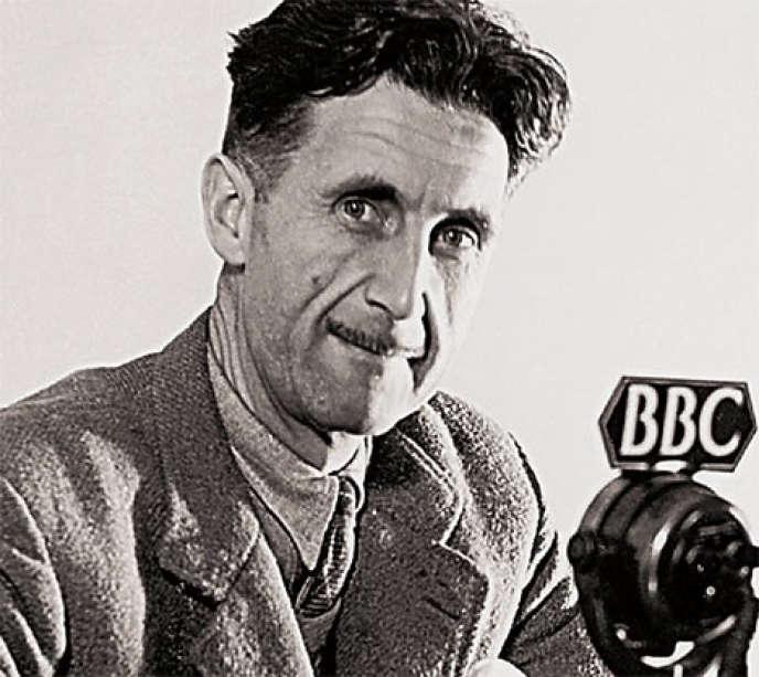 L'écrivain George Orwell.