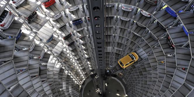 L'usine Volkswagen de Wolfsuburg en Allemagne.