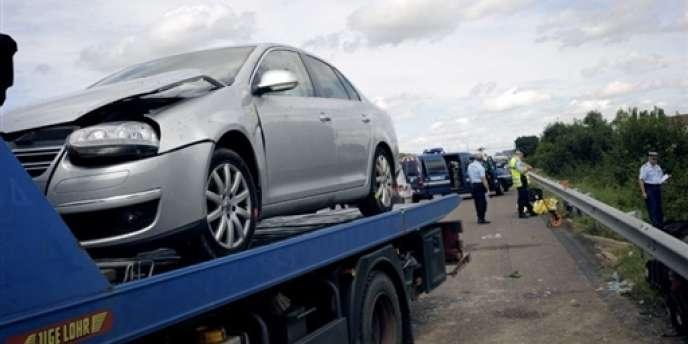 La baisse du nombre des accidents s'explique par la hausse des tarifs des carburants.