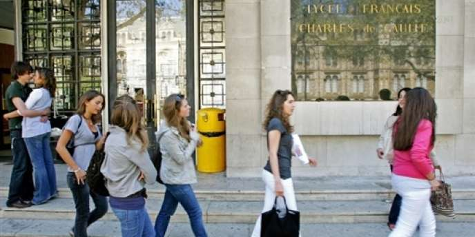 Le lycée français Charles-de-Gaulle, à Londres, en avril 2007.